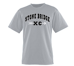 Stone Bridge Cross Country Moisture Wick Short Sleeve T- Shirt
